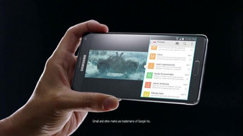 Samsung Galaxy Note 4 TV Spot, 'Then and Now' - Thumbnail 3
