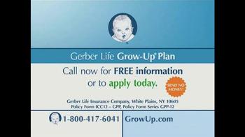 The Gerber Life Grow-Up Plan TV Spot - Thumbnail 10
