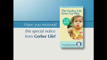 The Gerber Life Grow-Up Plan TV Spot - Thumbnail 2