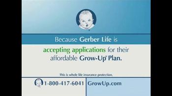 The Gerber Life Grow-Up Plan TV Spot - Thumbnail 3