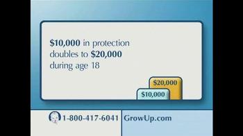 The Gerber Life Grow-Up Plan TV Spot - Thumbnail 6