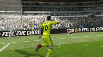 GameStop TV Spot, 'FIFA 15: Feel the Passion, Kiss the Wrist' - Thumbnail 3