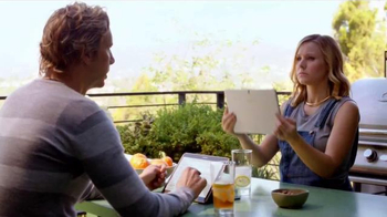 Samsung Galaxy Tab S TV Spot, 'What You Really Need' Featuring Kristen Bell - Thumbnail 4