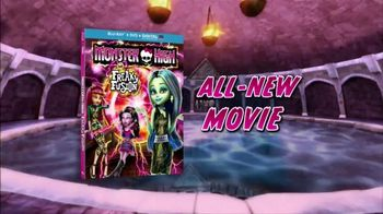 Monster High: Freaky Fusion Blu-ray and DVD TV Spot