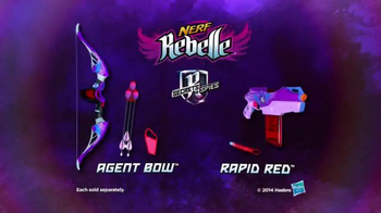 Nerf Rebelle Secrets & Spies TV Spot, 'Fearless' Song by Echosmith - Thumbnail 10