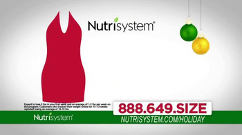 Nutrisystem TV Spot, 'Lose Weight Just In Time For the Holidays'  - 291 commercial airings