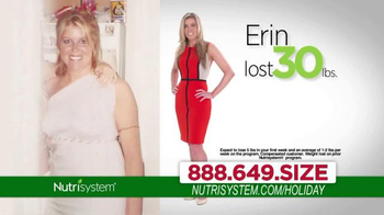 Nutrisystem TV Spot, 'Lose Weight Just In Time For the Holidays'  - Thumbnail 5