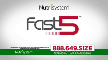 Nutrisystem TV Spot, 'Lose Weight Just In Time For the Holidays'  - Thumbnail 6