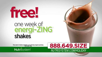 Nutrisystem TV Spot, 'Lose Weight Just In Time For the Holidays'  - Thumbnail 7