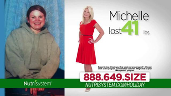 Nutrisystem TV Spot, 'Lose Weight Just In Time For the Holidays'  - Thumbnail 8