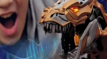 Transformers Stomp & Chomp Grimlock TV Spot - 988 commercial airings