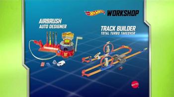 Hot Wheels Airbrush Auto Designer & Track Builder TV Spot - Thumbnail 9