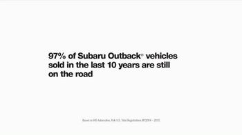 2015 Subaru Outback TV Spot, 'Memory Lane' Song by Bones of J.R. Jones - Thumbnail 9