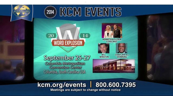 Kenneth Copeland Ministries TV Spot, '2014 KCM Events'