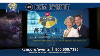 Kenneth Copeland Ministries TV Spot, '2014 KCM Events' - Thumbnail 4