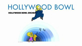 Hollywood Bowl The Simpsons Take The Bowl TV Spot