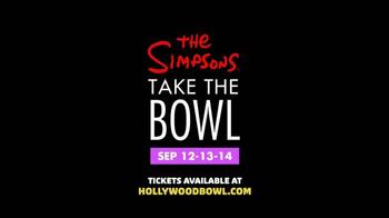 Hollywood Bowl The Simpsons Take The Bowl TV Spot - Thumbnail 8