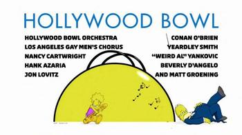 Hollywood Bowl The Simpsons Take The Bowl TV Spot - Thumbnail 5