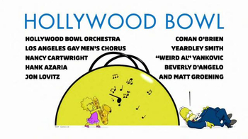 Hollywood Bowl The Simpsons Take The Bowl TV Spot - Thumbnail 6