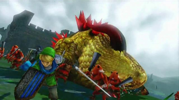 Hyrule Warriors TV Spot, 'Time to Fight' - Thumbnail 6