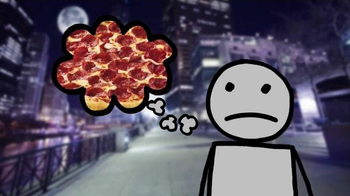 Pizza Hut Bacon Cheese Stuffed Crust Pizza TV Spot, 'Middle of the Pizza' - Thumbnail 4