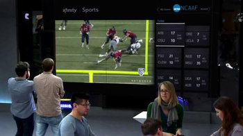 XFINITY X1 Entertainment Operating System TV Spot, 'College Football' - 326 commercial airings