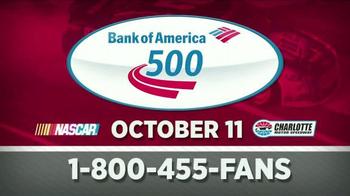 Charlotte Motor Speedway TV Spot, 'Bank of America 500'