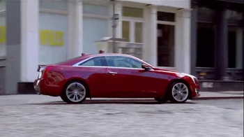 2015 Cadillac ATS Coupe TV Spot, 'Irresistible' Featuring Stephen Merchant - Thumbnail 9