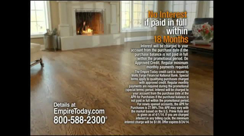 Empire Today Whole House Sale TV Spot, 'Best Finance Offer of the Year' - Thumbnail 2