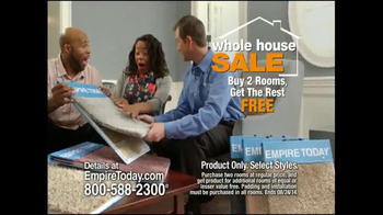 Empire Today Whole House Sale TV Spot, 'Best Finance Offer of the Year' - Thumbnail 3