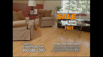 Empire Today Whole House Sale TV Spot, 'Best Finance Offer of the Year' - Thumbnail 4