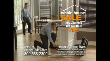 Empire Today Whole House Sale TV Spot, 'Best Finance Offer of the Year' - Thumbnail 5