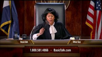 BasicTalk TV Spot, 'Judge'