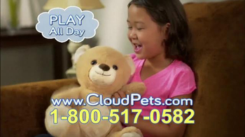 Cloud Pets Teddy Bear TV Spot