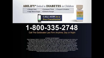 Goldwater Law Firm TV Spot, 'Diabetes' - Thumbnail 6
