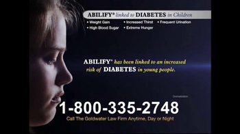 Goldwater Law Firm TV Spot, \'Diabetes\'