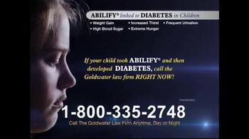 Goldwater Law Firm TV Spot, 'Diabetes' - Thumbnail 3