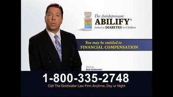 Goldwater Law Firm TV Spot, 'Diabetes' - Thumbnail 4
