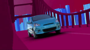 2014 Mitsubishi Mirage TV Spot, 'Vibrant Colors'