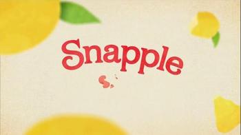 Diet Snapple Half 'n Half TV Spot, 'Snapple Says' - Thumbnail 1