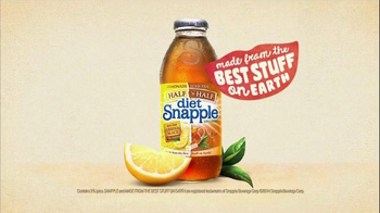 Diet Snapple Half 'n Half TV Spot, 'Snapple Says'