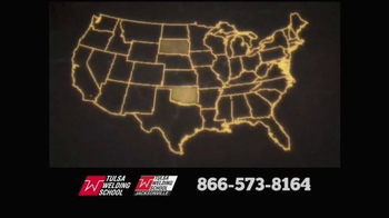 Tulsa Welding School TV Spot, 'Anywhere' - Thumbnail 2