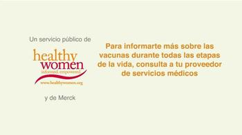 Healthy Women TV Spot, 'Vacunas: feliz cumpleaños' [Spanish] - Thumbnail 10
