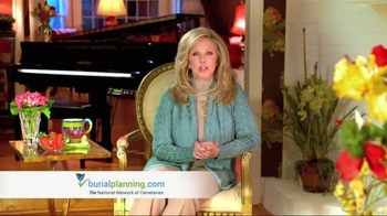 BurialPlanning.com TV Spot Featuring Morgan Fairchild - 620 commercial airings