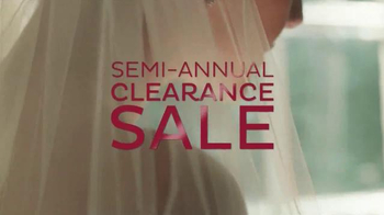 David's Bridal Semi-Annual Clearance Sale TV Spot