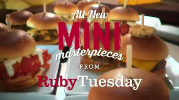 Ruby Tuesday Mini Masterpieces TV Spot