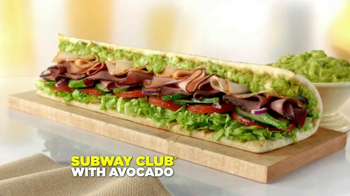 Subway Club with Avocado TV Spot, 'Ode to the Subway Club with Avocado' - Thumbnail 10