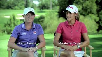 LPGA North Texas Shootout TV Spot Featuring Stacy Lewis and Azahara Munoz - Thumbnail 3