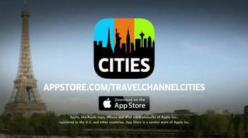 Travel Channel Cities App TV Spot