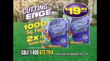 Cutting Edge Grass Seed TV Spot - Thumbnail 9
